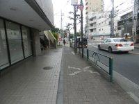 そのまま「東経大通り」を直進=現代法学部2年、田中紘夢さん撮影