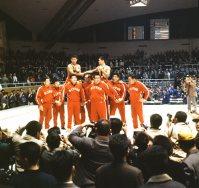 【1964東京五輪】レスリング・グレコローマン・フライ級で花原勉、バンタム級で市口政光が金メダル