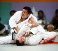 【1984ロサンゼルス五輪】男子柔道95キロ超級に出場した斉藤仁は圧倒的な強さで、決勝でも宿敵パリジ(フランス)に優勢勝ちで金メダルに輝いた