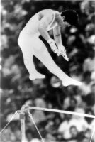 【1984ロサンゼルス五輪】体操男子鉄棒で森末慎二が10点満点で金メダル