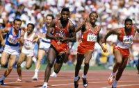 【1984ロサンゼルス五輪】カール・ルイス(米国)が400メートルリレーで金メダル
