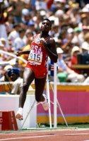 【1984ロサンゼルス五輪】カール・ルイス(米国)は男子100メートル、男子200メートル、走り幅跳び、400メートルリレーで4冠を達成した