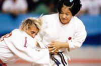 【1992バルセロナ五輪】柔道女子48キロ級、田村亮子が準決勝でブリッグスに反則勝ち