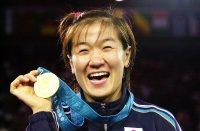 【2000シドニー五輪】バルセロナ、アトランタと過去2度の大会で金メダルを逃し、大会前は「最高でも金、最低でも金」と背水の陣で臨んだ=川田雅浩撮影