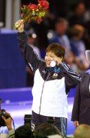 【2000シドニー五輪】女子柔道78キロ超級で銅メダルを獲得した山下まゆみ=中村琢磨撮影