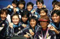 【2000シドニー五輪】アメリカとのソフトボール決勝は1-2で敗れ銀メダル=川田雅浩撮影