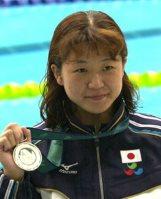【2000シドニーパラリンピック】競泳で六つの金メダルを獲得した成田真由美=石井諭撮影