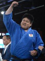 【2012ロンドンパラリンピック】柔道(視覚障害)男子100キロ超級で金メダルを取った正木健人=木葉健二撮影