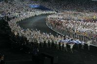 【2004アテネ五輪】アテネで五輪を開催するのは1896年の第1回大会以来108年ぶり。日本は金メダル16個、銀メダル9個、銅メダル12個を獲得した=小関勉撮影