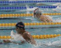 【2004アテネ五輪】北島康介が男子100メートル平泳ぎで金メダル。「チョー気持ちいい」はこの年の流行語大賞に=小関勉撮影