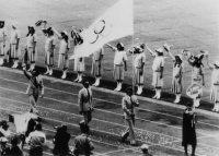 【1980モスクワ五輪】大会に日米韓などが不参加。開会式で五輪旗を持って入場行進するアンドラ
