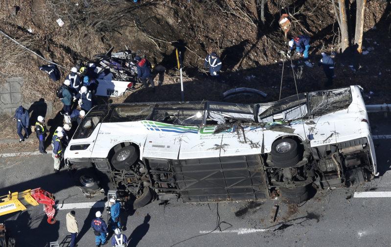 軽井沢 スキー バス 転落 事故
