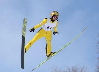 スキージャンプ:見たか妹よ 最...