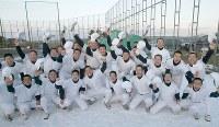 【2002年】鵡川高校(北海道)=2002年1月31日、吉田競撮影