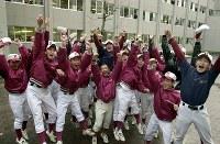 【2002年】松江北高校(島根)=2002年1月31日、大西達也撮影