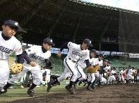 【2003年】柏崎高校(新潟)=2003年3月18日、梅村直承撮影