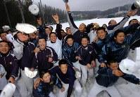 【2006年】金沢桜丘(石川)=2006年1月31日、梅村直承撮影
