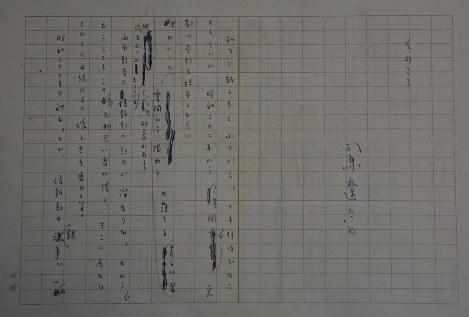 京都宗教記者会の発足30周年記念誌に寄稿した司馬遼太郎さんの直筆原稿