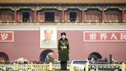 中国・北京の天安門広場