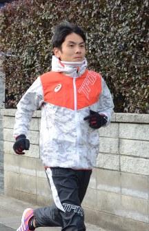 東京マラソンで五輪切符獲得を目指す今井