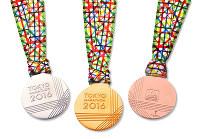 東京マラソン2016で上位入賞者に贈られるメダル