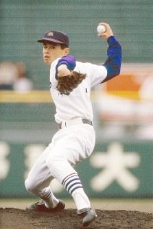 イチロー(愛工大名電)=1991年3月29日撮影