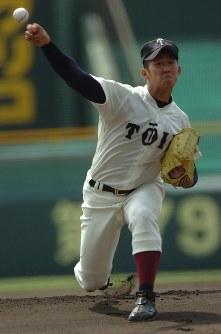 中田翔(大阪桐蔭)=2007年3月31日撮影
