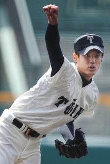 藤浪晋太郎(大阪桐蔭)=2012年4月2日撮影