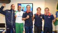 東京マラソンに出場するブラジル人ランナーたち