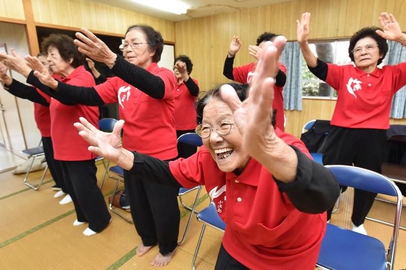 kbg84 group of singing okinawan grandmas enjoys growing fame the
