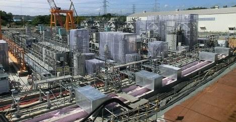 多核種除去設備「ALPS」(東電提供)