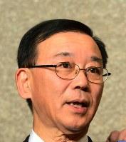 自民党の谷垣禎一幹事長=竹内紀臣撮影