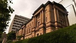 日本銀行旧館=2015年5月、関口純撮影