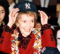 ナンシー・レーガンさん 94歳=故ロナルド・レーガン米元大統領の妻(3月6日死去)