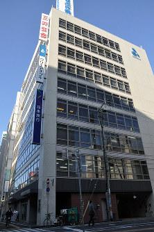 香川県内の商業地で最高価格地点となった高松市磨屋町2の6外、深尾昭寛撮影