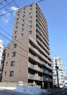 道内の住宅地で3年連続1位の札幌市中央区大通西23の2の1=武市公孝撮影