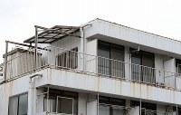 寺内樺風容疑者が住んでいたマンションの部屋=千葉市稲毛区で2016年3月28日午後3時20分、徳野仁子撮影