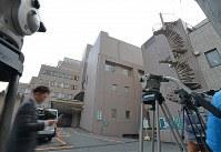 寺内樺風容疑者が入院している病院=静岡県伊豆の国市で2016年3月28日午後2時34分、宮間俊樹撮影