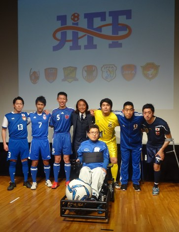 障害者サッカー:統括の連盟発足...