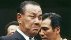 「天才」(幻冬舎)は、田中角栄氏が一人称で生涯を振り返る小説だ=1972年12月撮影