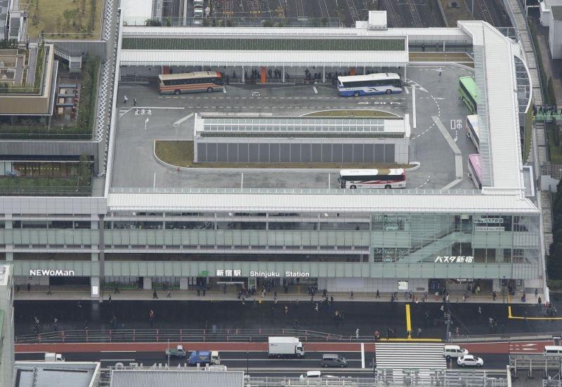南口に「高速バス」乗降場オープン