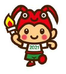 「三重とこわか国体」のマスコットキャラクターのデザイン=県提供