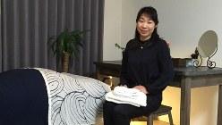 「セレナイト」のさとう桜子さん=吉永磨美撮影
