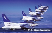 T-4 ブルーインパルス=航空自衛隊提供