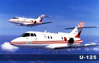 飛行点検機 U-125=航空自衛隊提供