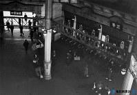 東京駅・丸の内口=1935年6月撮影