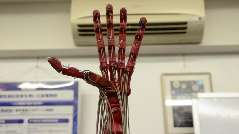 メルティンの筋電義手を構成するロボットハンド