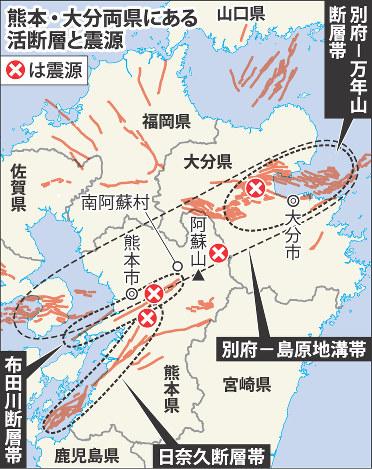 震源、阿蘇・大分へ 14日の地震が誘発かアクセスランキング編集部のオススメ記事