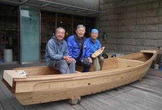 べか舟:10年ぶり完成 「舟大工...