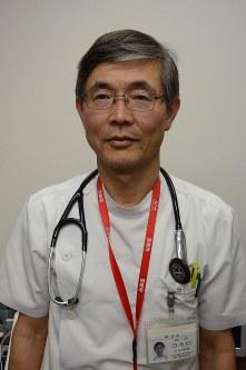 上田耕蔵・神戸協同病院院長=神戸市長田区で2016年4月20日、神足俊輔撮影